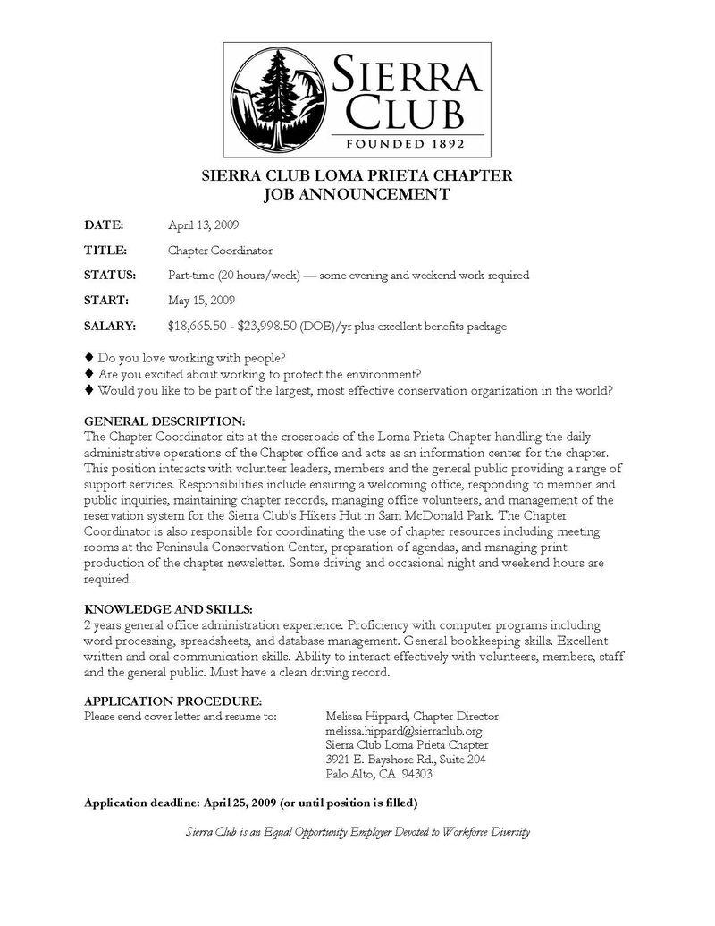 Sierra Club dating