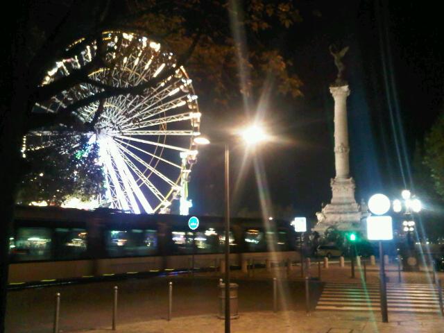 Bordeaux fair at night1