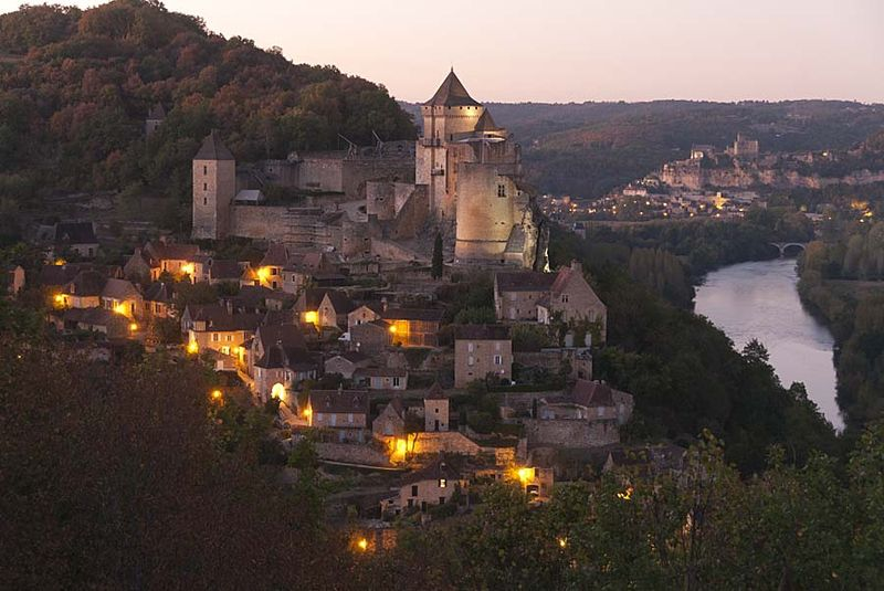 2-Castelnaud twilight