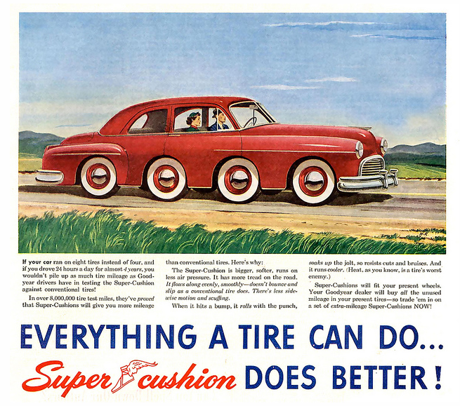 Supercushion tires