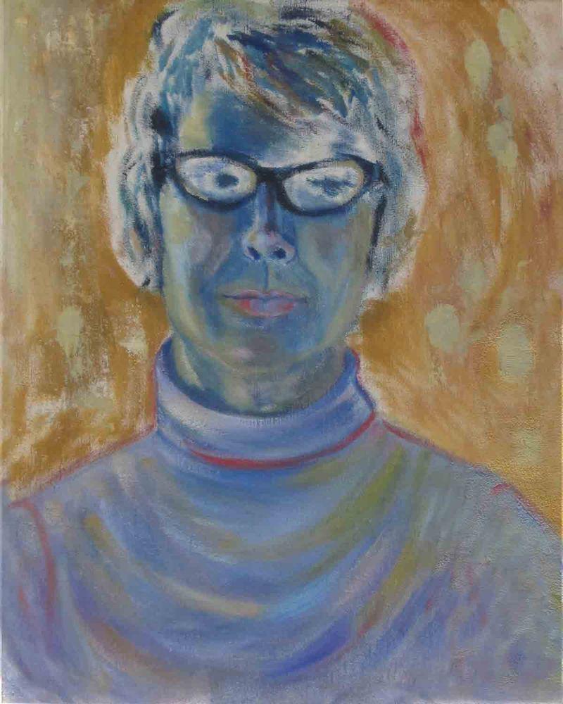 Mary Harris - Self Portrait