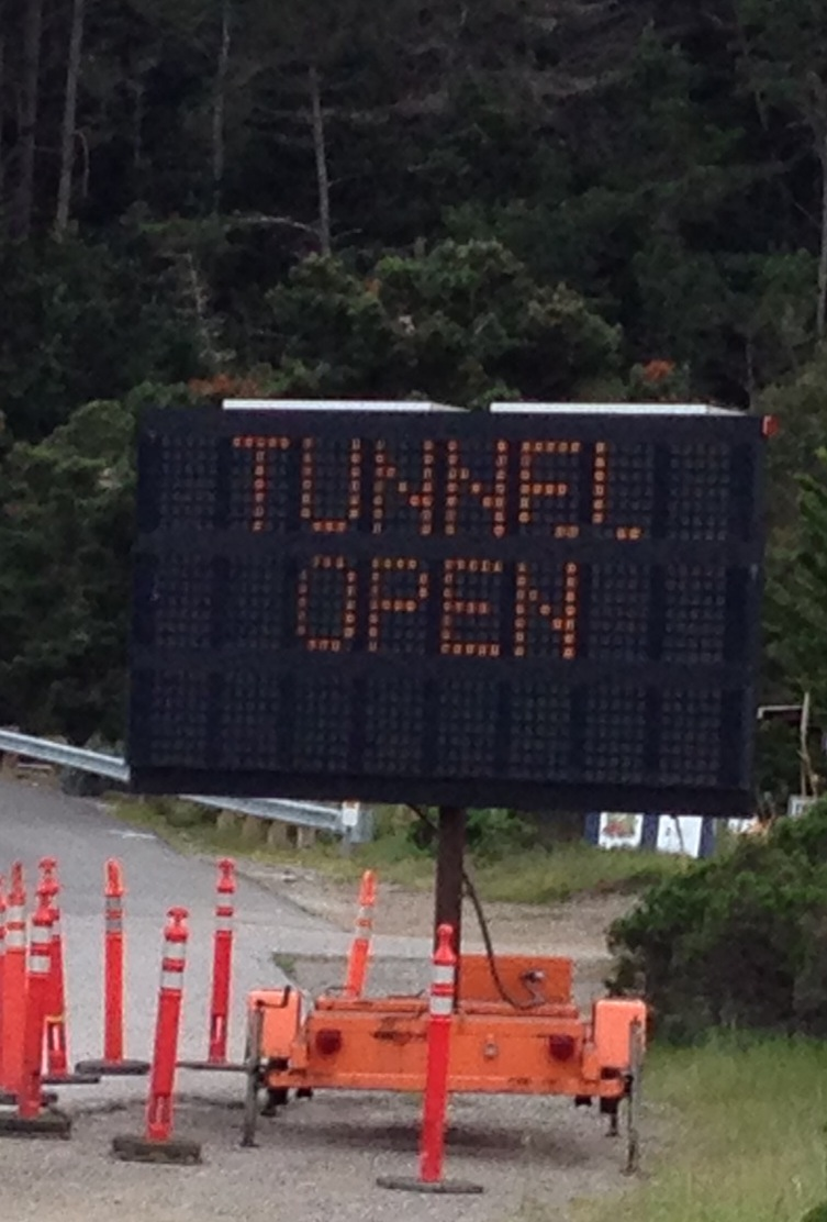 Tunnel Sign