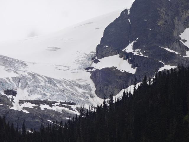 Glacier north of Whistler