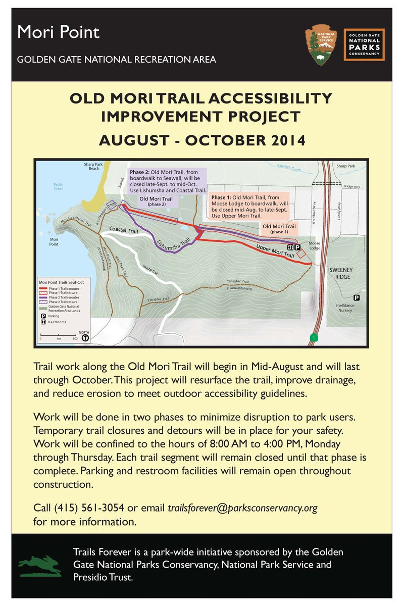 Mori Point Accessibility Project Flyer Map combo draft 1