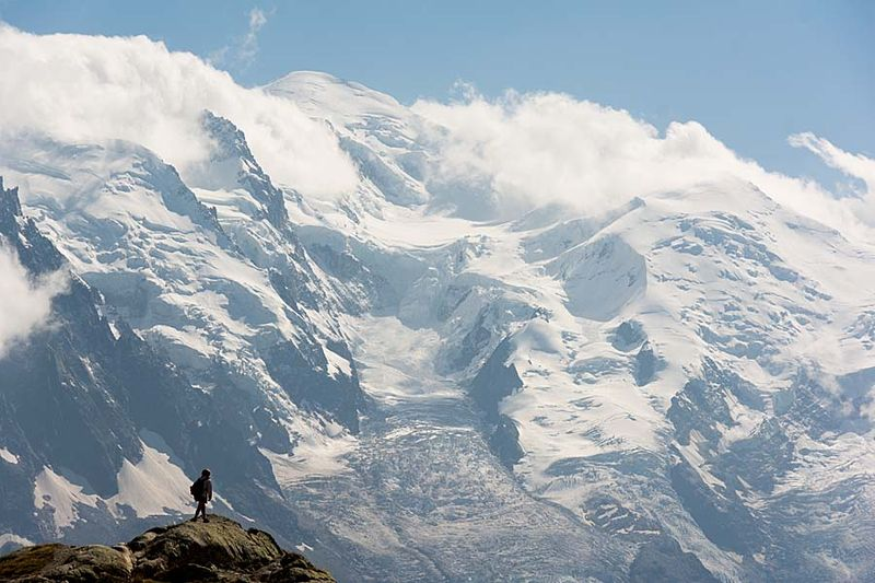 3-Mont Blanc from Lac Blanc