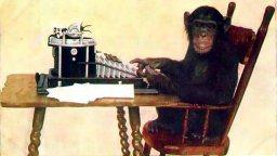 Monkey-typing