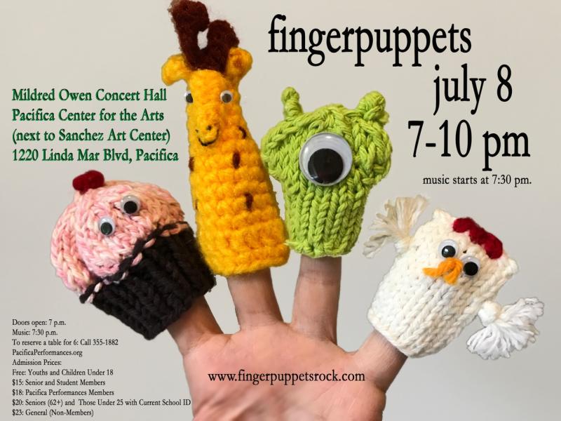 Fingerpuppets Sanchez July 8
