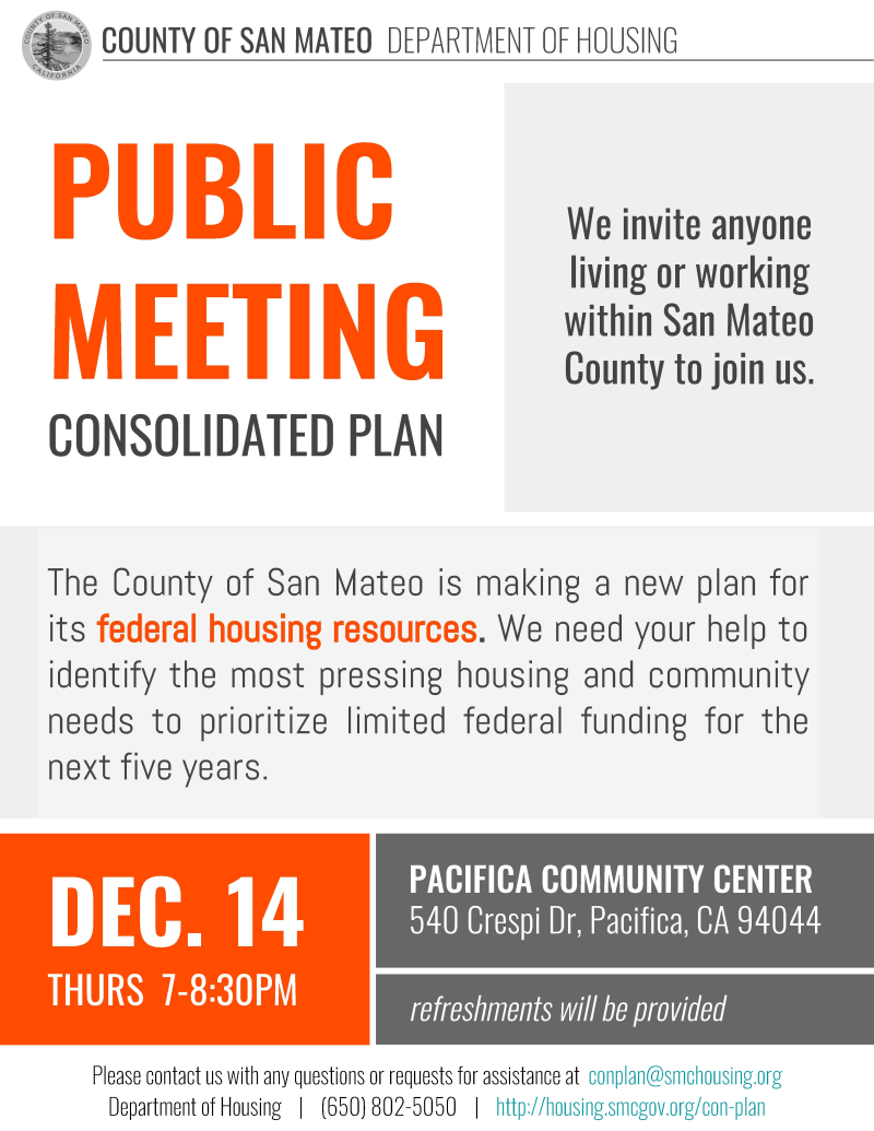 (English) Pacifica Public Meeting Flier