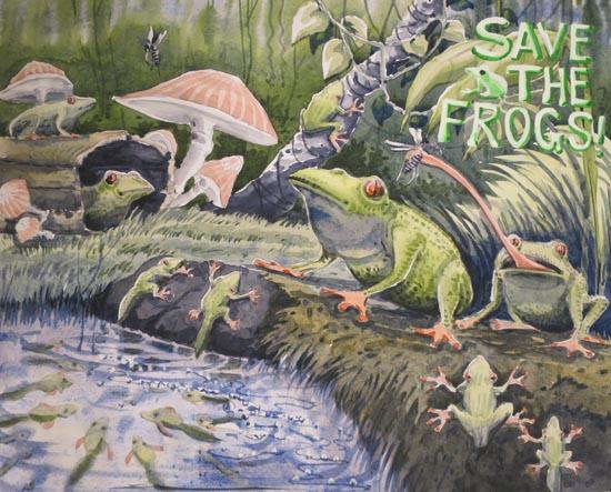 Savethefrogs2015artwinner2