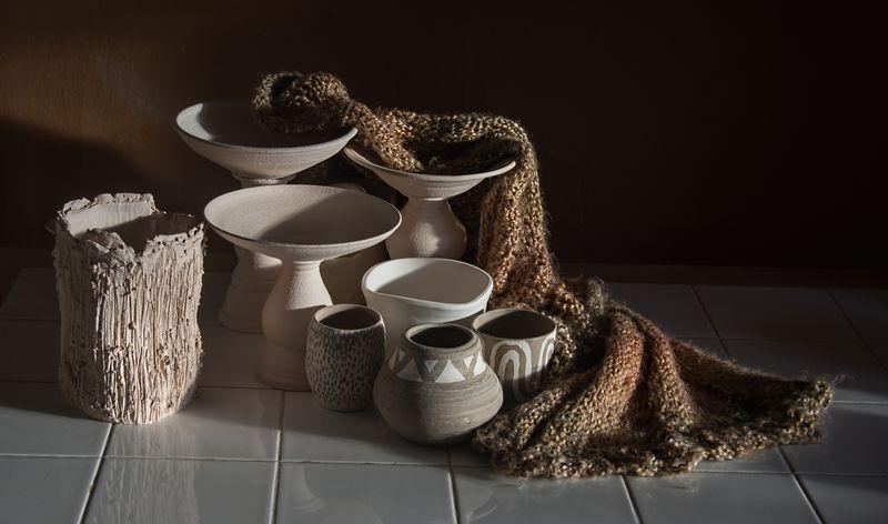 PotteryAndScarf$100
