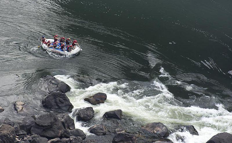 5-Zambezi rafting