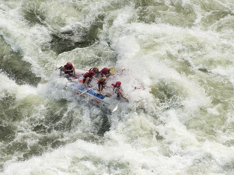 6-Zambezi rafting