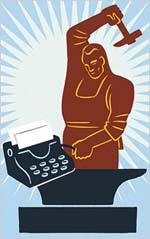Blacksmith:typewriter
