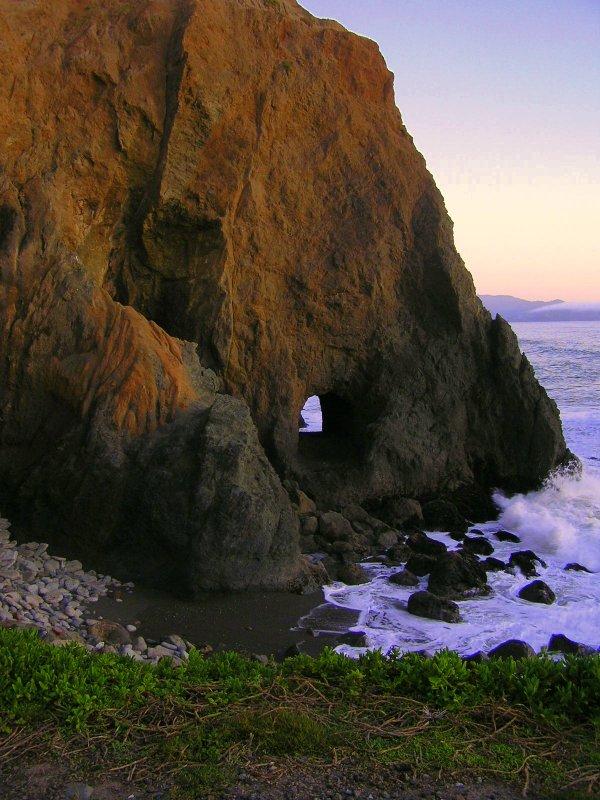 The pass-thru at M. Rocks
