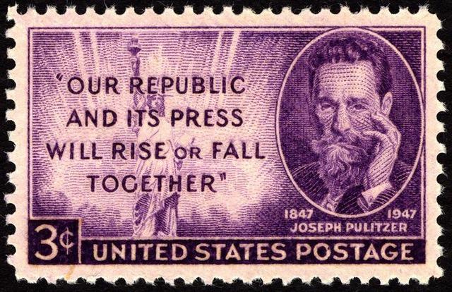 695px-Joseph_Pulitzer_3c_1947_issue_U.S._stamp