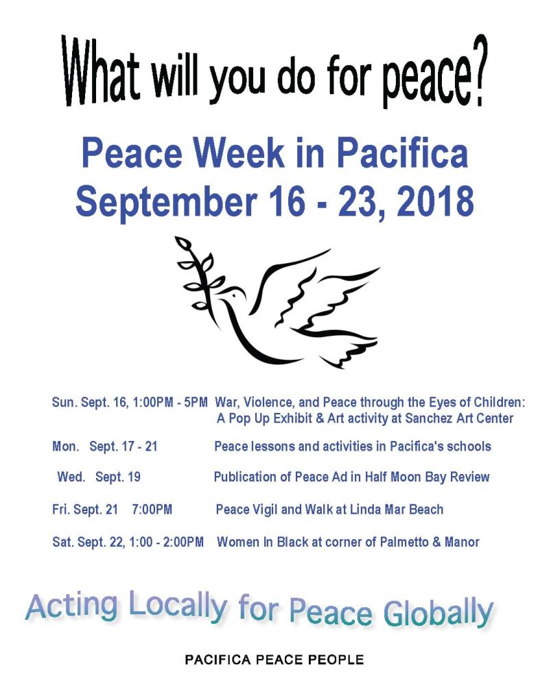 9-21-18 Peace Flyer