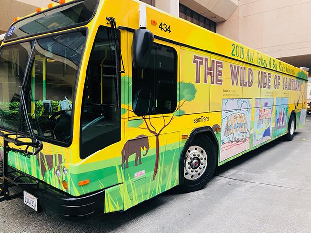 2018 ATABR Wrapped Bus