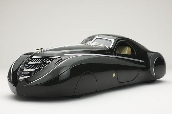 Duesenberg Coupe Simone Midnight Ghost 1939