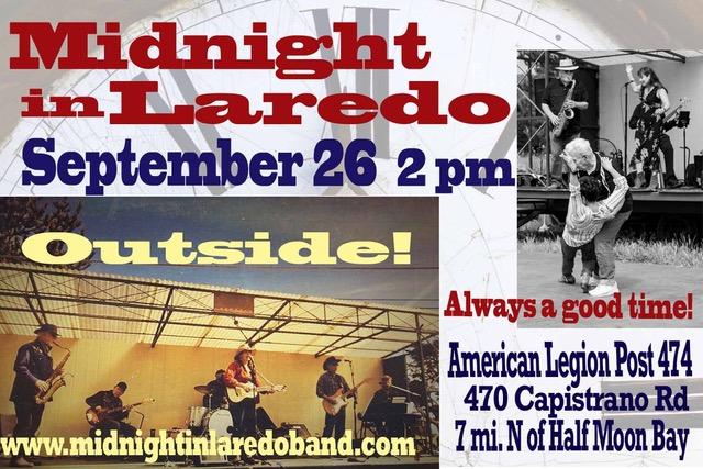 Midnight in Laredo 9-26-21