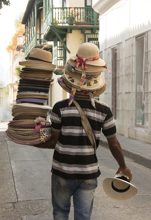 4-Cartagena hat vendor