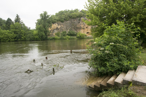 19-Dordogne, June in flood