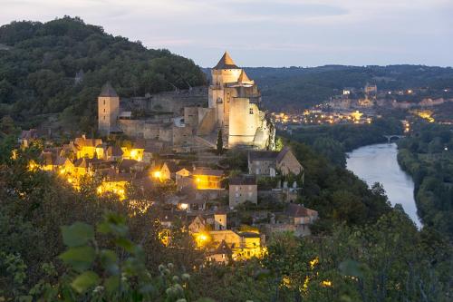 20-Castelnaud, sunset Sept 22