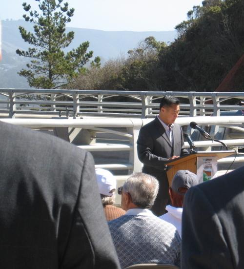 Senator Leland Yee Speaks at Caltrans Celebration