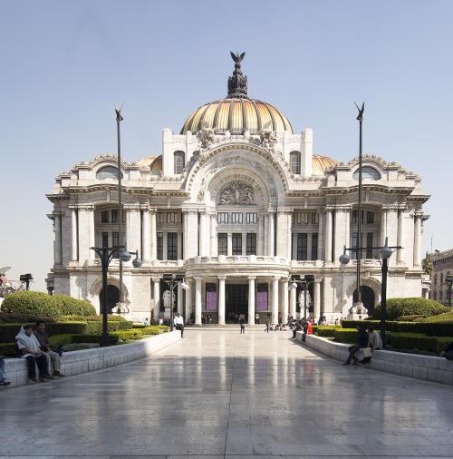 Mexico 04 Mexico City Bellas Artes