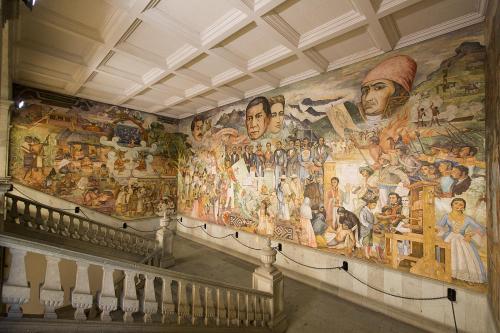 Mexico 11 Oaxaca mural by Arturo García Bustos