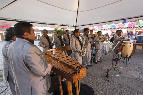 Mexico 32 San Cristobal marimba band