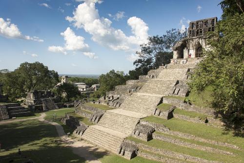 Mexico 47 Palenque Templo de la Cruz